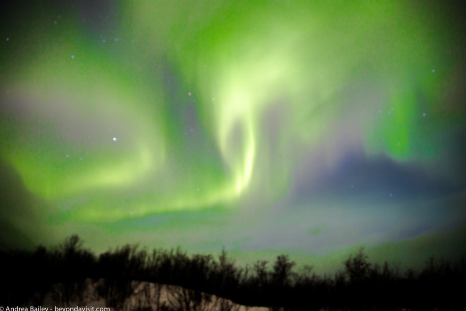 Travel Mum Chases The Northern Lights